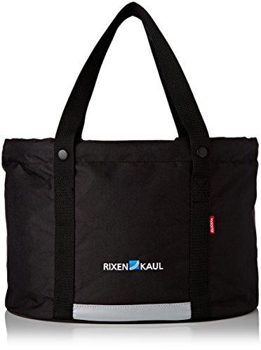 Rixen & Kaul Shopper Plus Fietsmand voor voor, zwart, 24 l