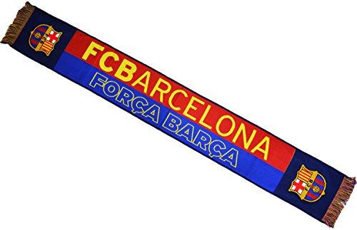 Fc Barcelone Echarpe Barça - Collection Officielle Taille 14