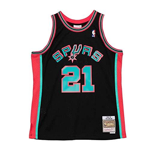Mitchell & Ness NBA Reload Swingman Jersey Sa Spurs T. Duncan Black XL