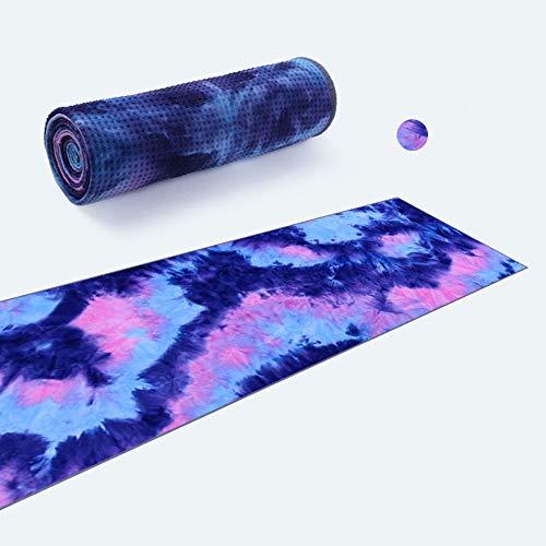 Zhaojianhui Fitnesshanddoek, antislip, voor sport, milieubescherming, geverfd, yoga-handdoek, bedrukt