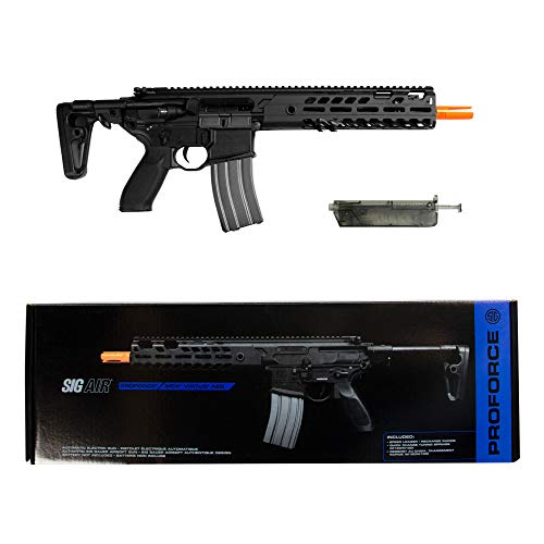 Sig Sauer ProForce MCX Virtus Airsoft AEG (Battery NOT Included), Black, One Size
