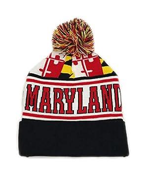 CTX Hats Maryland Flag Pattern - Beanie Cap