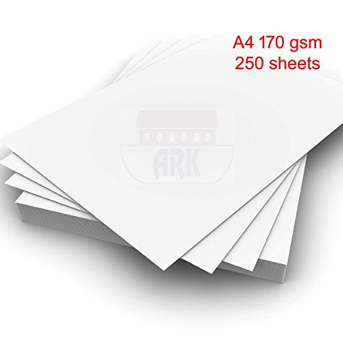 ARK 35830 A4 170gsm Premium Printer Craft Card - Wit