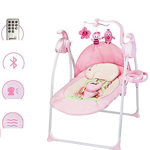 Sharesun kinderbed voor baby- en peuter-hangmatten, high-tech baby-zwinghangmat met afstandsbediening voor kinderen en peuters