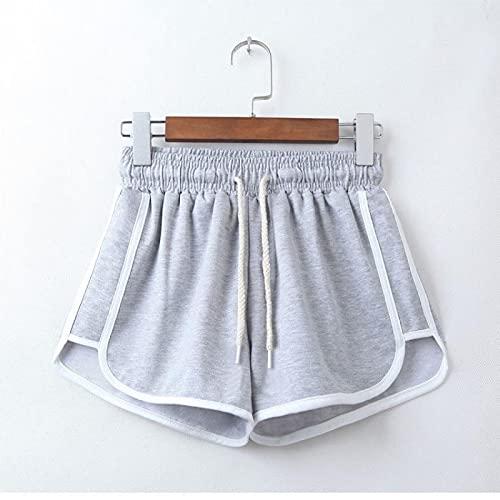 Pantaloncini da Donna Shorts Womens Summer Plus Size 5XL Patchwork Elastic Stretch High Waist Anti Emptied Loose Casual Beach Sexy Work