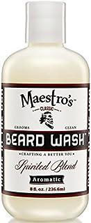 Maestro's Classic Spirited Beard Wash, 8 Ounce