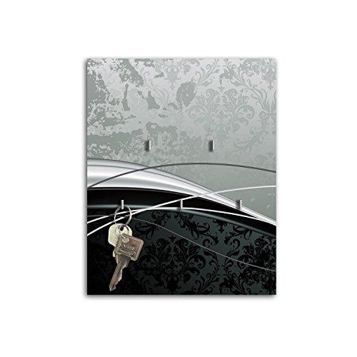Steelprint porte-clefs mural avec design élégant sB308 swing relaxdays porte-clés
