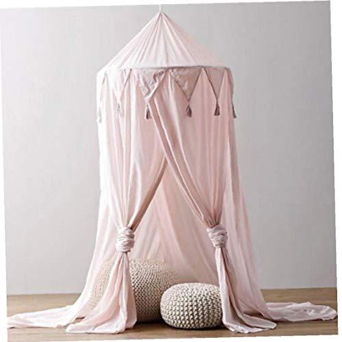 BYFRI Kid Baby Bed luifel Beddeken Muggennetje Gordijn Ronde Dome Tent Katoen (Random Kleur)