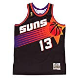Steve Nash Phoenix Suns Mitchell and Ness Men's Black Throwback Jesey Small