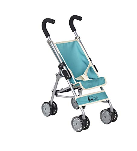My first Deluxe (taller than standard) Doll Stroller Super Cute Doll Stroller for Girls & Boys - Doll Stroller Folds for Storage - Great Gift for Toddler