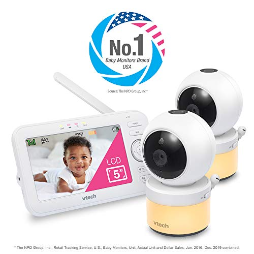 41hCDRNpSeL 12 Best Baby Monitors Under $150–$200 Review [Updated 2021]