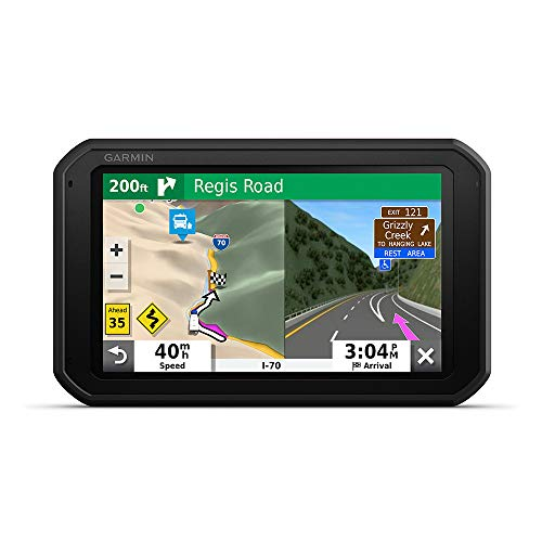 Garmin RV 785 & Traffic, Advanced GPS Navigator for RVs with Built-in Dash Cam, High-res 7' Touch Display, Voice-Activated Navigation