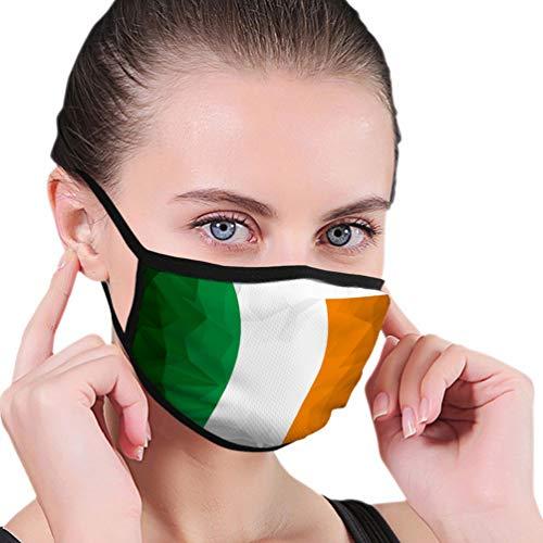 Na Outdoor Mundschutz Waschbare und wiederverwendbare Flagge Irland Komfortable Abdeckungen