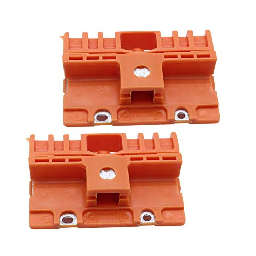 CALIDAKA 2pcs Window Regulator Clip Repair Left and Right Solid Easy Install Replacement Parts for Audi- A6 SI AT02030