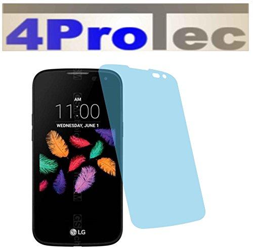 4ProTec I 2 Stück GEHÄRTETE ANTIREFLEX Bildschirmschutzfolie für LG K3 K100 Displayschutzfolie Schutzhülle Bildschirmschutz Bildschirmfolie Folie