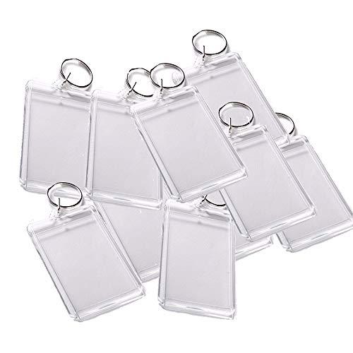 Limeow Acryl Schlüsselanhänger Foto Acryl Schlüsselanhänger Schlüsselring Bild Schlüsselbund für Foto Anhänger Schlüsselbund Transparent Schlüsselanhänger Schlüsselanhänger Foto(25 insgesamt)