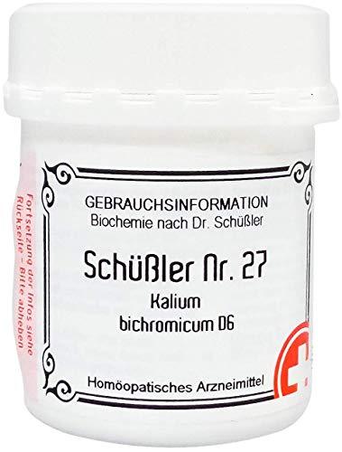 SCHÜSSLER Nr.27 Kalium bichromicum D 6 Tabletten 400 St