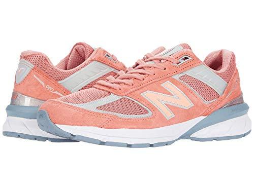 New Balance Men's M990V5 Running Shoe, Size: 7.5 Width: D Color: Sunrise/Grey