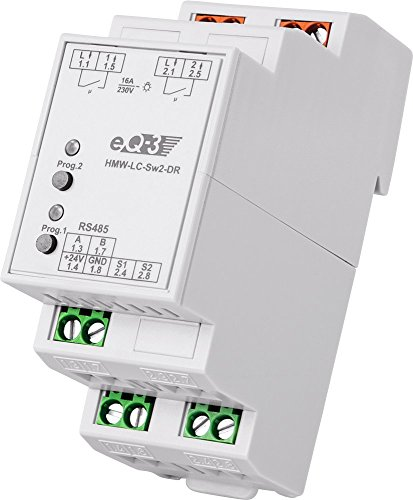 HomeMatic Wired RS485 Schaltaktor 2-fach, Hutschienenmontage