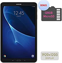 Samsung Galaxy Tab A 10.1'' Touchscreen (1920x1200) Wi-Fi Tablet, Octa-Core 1.6GHz Processor, 2GB RAM, 16GB Memory, Dual Cameras, Bluetooth, 128GB MicroSD Card, Android OS