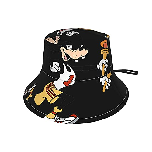 Hdadwy Goofy Running Hat UPF 50 + Sombrero de Cubo Protector para niños pequeños Sombreros de Playa de Verano para niños Sombrero de ala Ancha para Jugar al Aire Libre para niños y niñas Negro