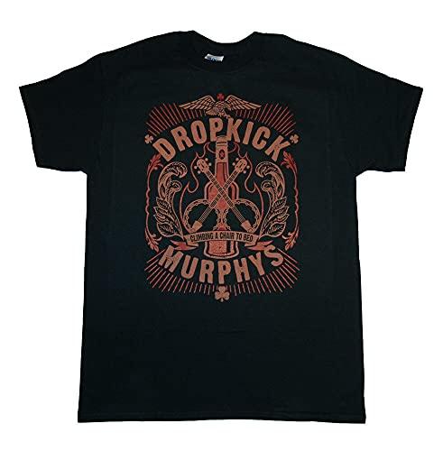 Dropkick Murphys - Climbing A Chair - T Shirt S-M-L-Xl-2Xl Black M
