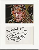 Stellan Skarsgård piratas del Caribe auténtico autógrafo firma y foto AFTAL