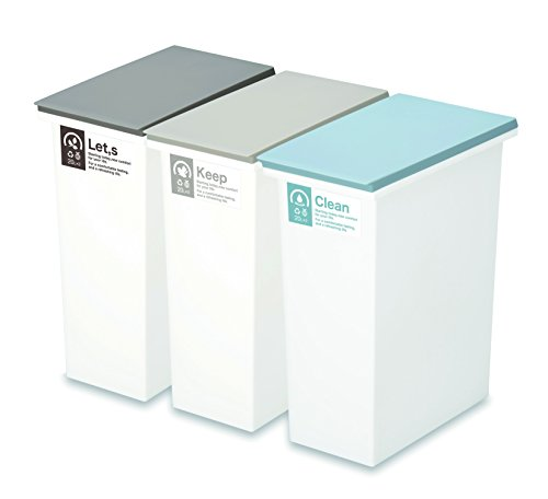 新輝合成 トンボ ネオカラー 分別 オープン ペール 20L 3個セット ゴミ箱