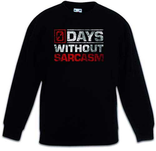 Urban Backwoods Days Without Sarcasm Kinderen Jongens Meisjes Sweatshirt Pullover Trui