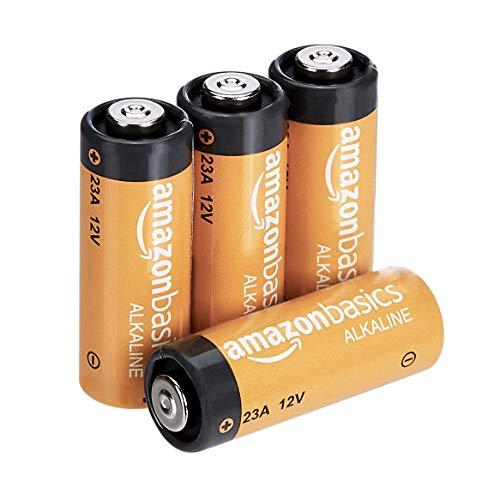 AmazonBasics - Alkali-Batterien, A23 (4 Stück)