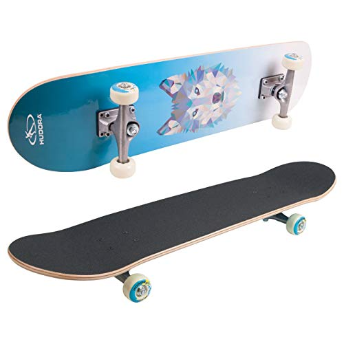 HUDORA Skateboard Wolf Instinct - Skateboarding, 12164