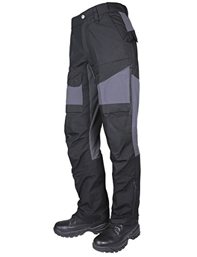 Tru-Spec Men's 24-7 Series Xpedition Pant, Black/Charcoal, 34W 32L