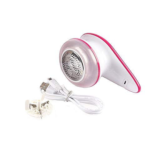 GLEADING Rasoir Anti-Bouloche/Anti-Peluche USB Rechargeable Portable, double protection pour vêtements, enlever les bouloches/peluches/petites boules des fibres rapidement et efficacement