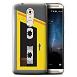 Stuff4 Phone Case for ZTE Axon 7 Mini Retro Cassette Player