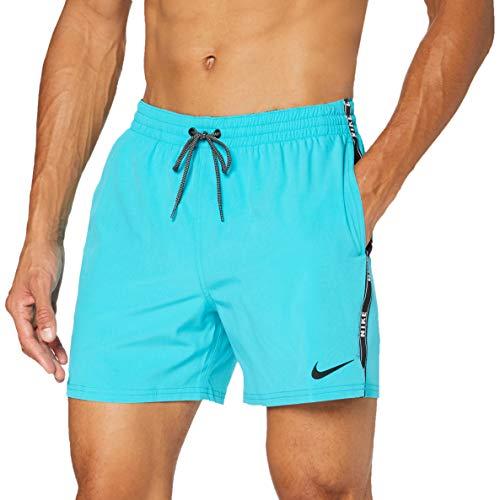 Nike LMF5 NESSA477, Costume da Bagno Uomo, Verde Acqua (Oracle Aqua), XXL