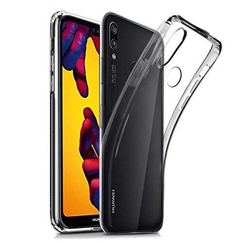 cookaR Custodia Huawei p20 Lite, Protettiva in Silicone Morbido Ultra Sottile Custodia Trasparente per Huawei p20 Lite. Cover per Huawei p20 Lite (Trasparente)