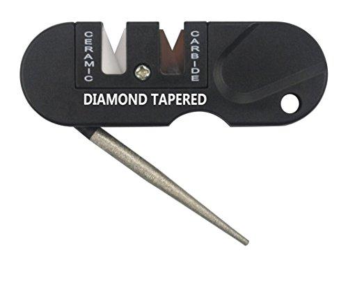 Mytk Portable temperamatite temperamatite tasca esterna manuale temperamatite per caccia, campeggio e viaggio