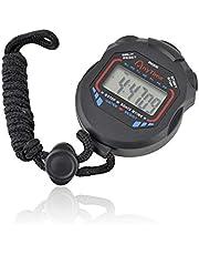 tempo di saldi Cronometro Digitale Multifunzione al Quarzo per Sport Parziale Totale Corsa