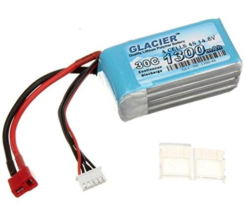 Glacier 30C 1300mAh 4S 14.8V LiPo Battery