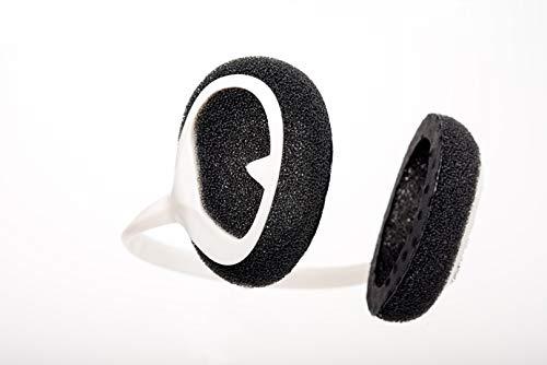 Windfree Windgeräuschreduzierung Windschutz Ohren Höhrgerät FarbeWeiss
