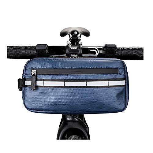 XICI Bolsa Bici Manillar Ajustable De Bicicleta, Impermeable Bolsa De Manillar De Bicicletas De Carretera Y De Montaña para Ciclismo, Tambien Es Un Bolso Bandolera, Dos En Uno
