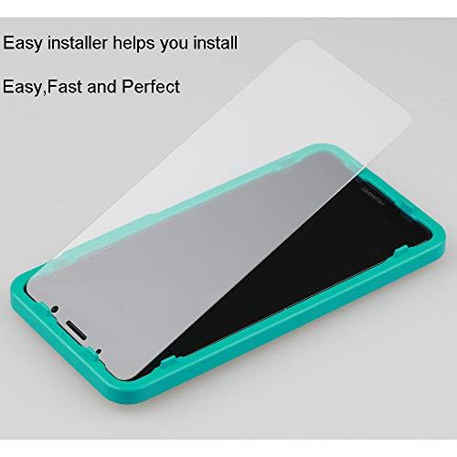 Ibywind Panzerglasfolie für Huawei Mate 10 Pro[2 Stück]-HD Displayschutzfolie,Tempered Glas Schutzglas,Handy Hartglas Schutzfolie mit Applikator für die Installation - 2