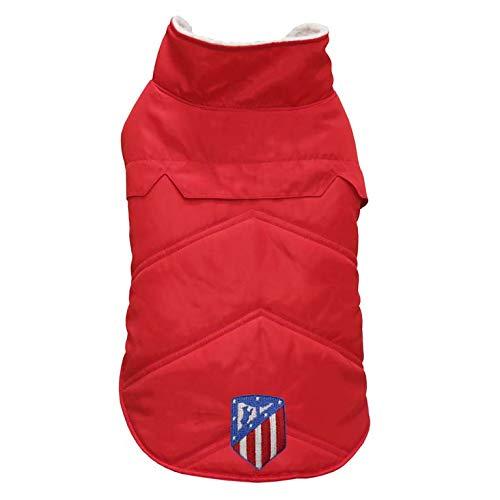Atletico de Madrid AB-01XXS-ATL Abrigo para Perro, Talla XXS