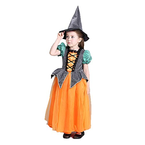 Halloween kinderkostuums Halloween jurken Halloween Role Play kleding Halloween-heks cape