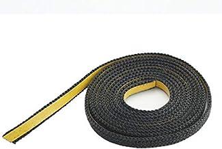 Afdichtband zelfklevend zwart 20 mm x 2 mm ideaal voor raamafdichtingen van kachels