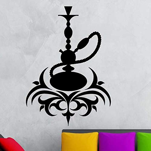 Tianpengyuanshuai Shop Sticker Muursticker roken Arabisch vinyl sticker kunst wandafbeelding muursticker