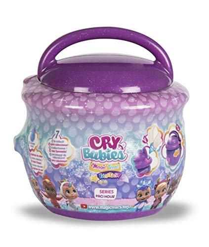 Casetta Ciuccio Cry Babies Magic Tears Fantasy Bambole in Capsula Serie Paci House Colore Viola