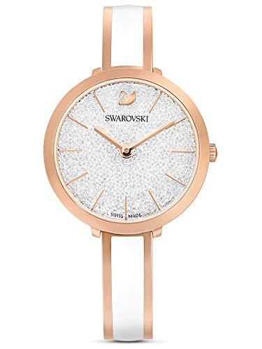 Swarovski Damen-Uhren Analog Quarz One Size Weiß 32016344