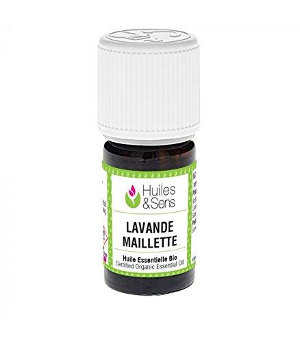Huiles & Sens - huile essentielle lavande maillette (bio) - 15 ml