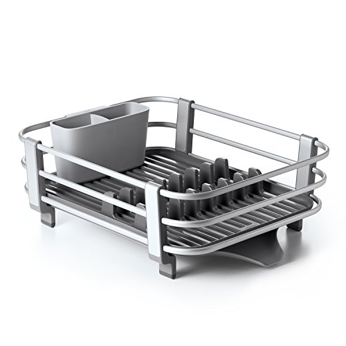 OXO Good Grips Rustproof Aluminum Dish Rack,Gray,n/a